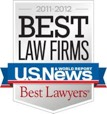 US News Best Law Firms 2011-2012 logo